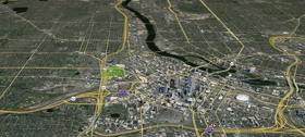 Map to Farmer's Market Annex Location