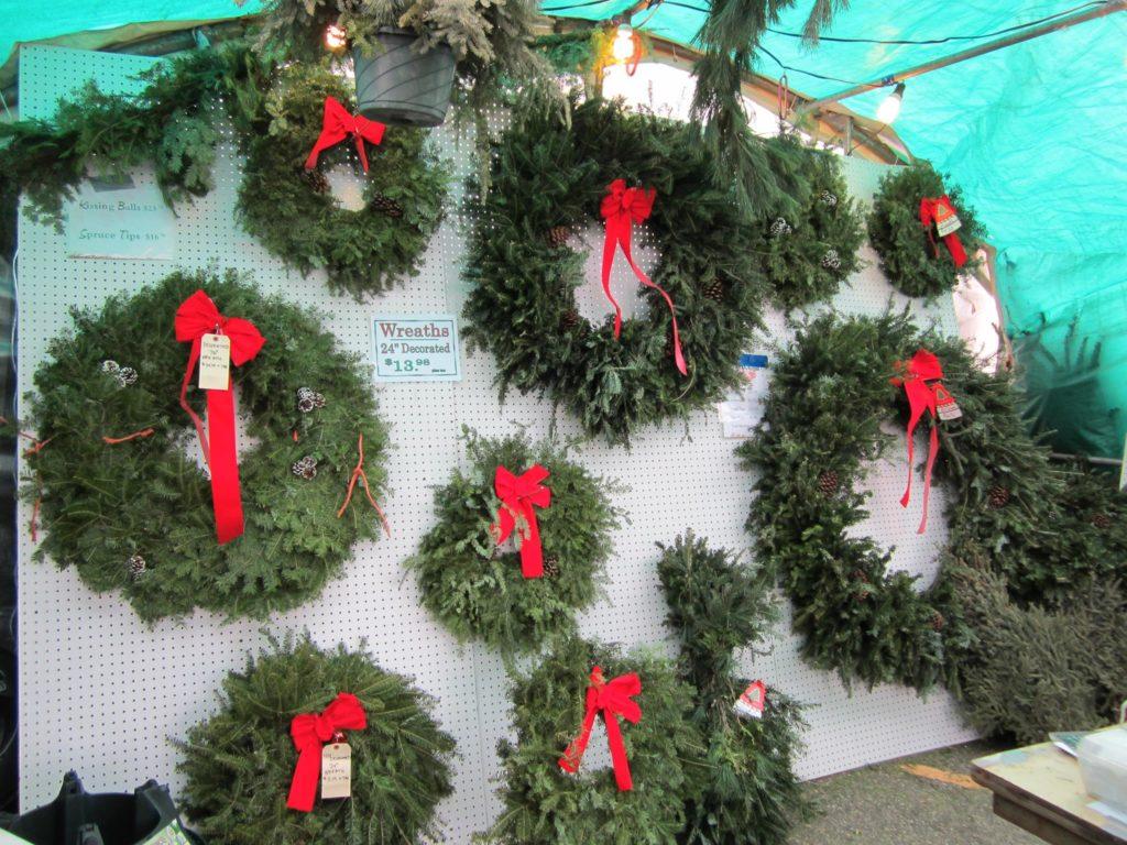 Christmas Trees at Eden Prairie Center - BJ Trees